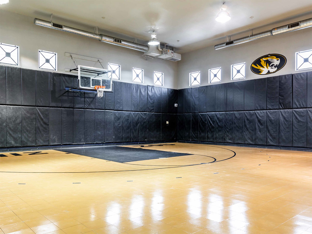 Quarters Columbia Indoor Basketball Court