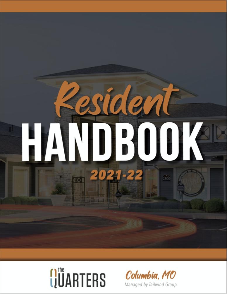 Quarters Columbia Resident Handbook